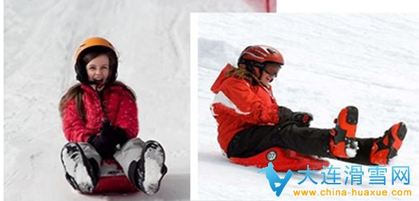 大连星海会展迷你雪魔方儿童滑雪场